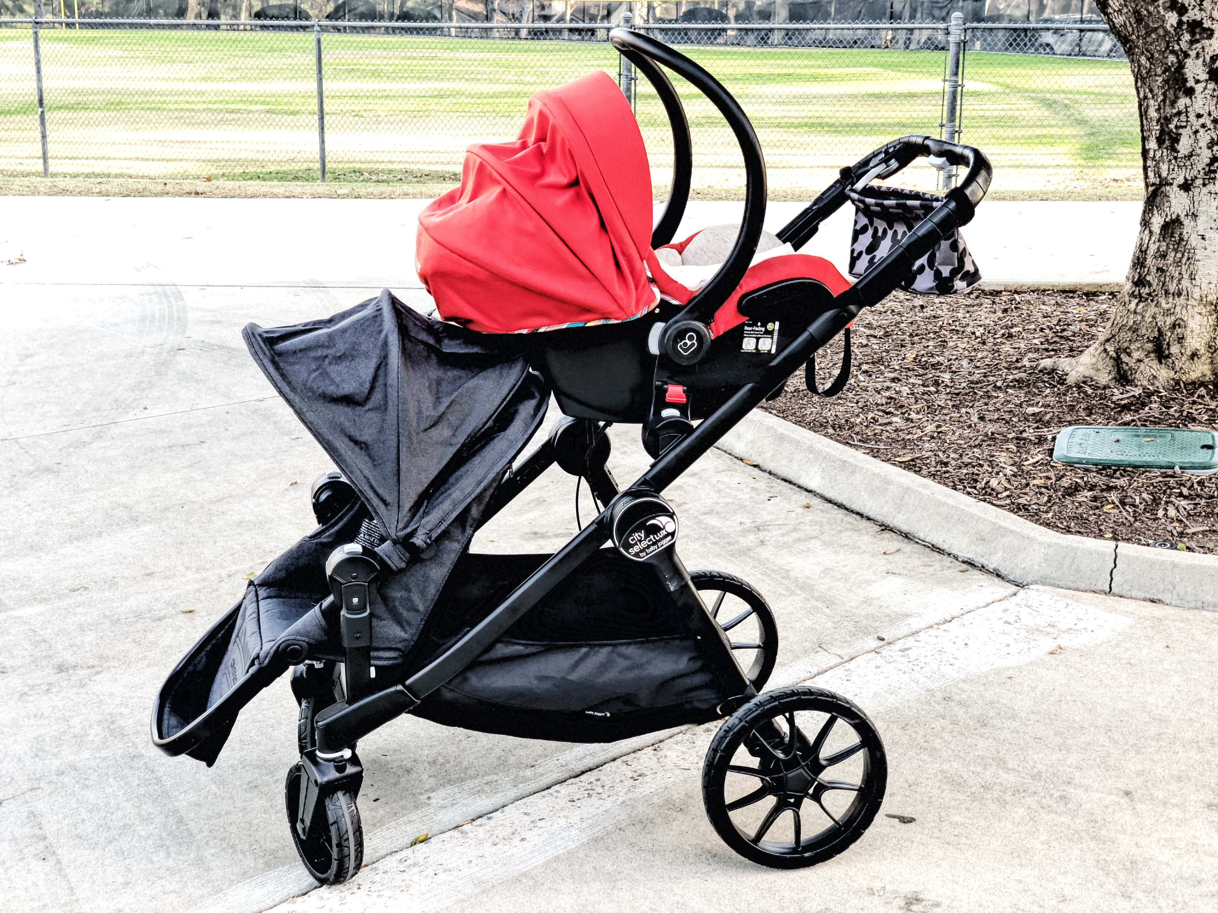 Baby Jogger City Select LUX Double Stroller Review With ...